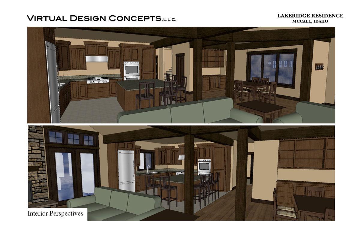 Lakeridge Custom Home – McCall, Idaho – Virtual Design Concepts ...