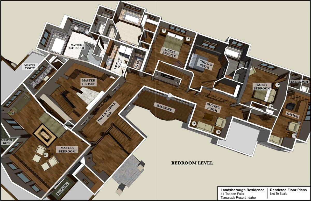 The Sky View Ski Lodge Tamarack Resort Idaho Virtual Design