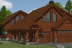 Cascade Lakefront Home Garage Addition