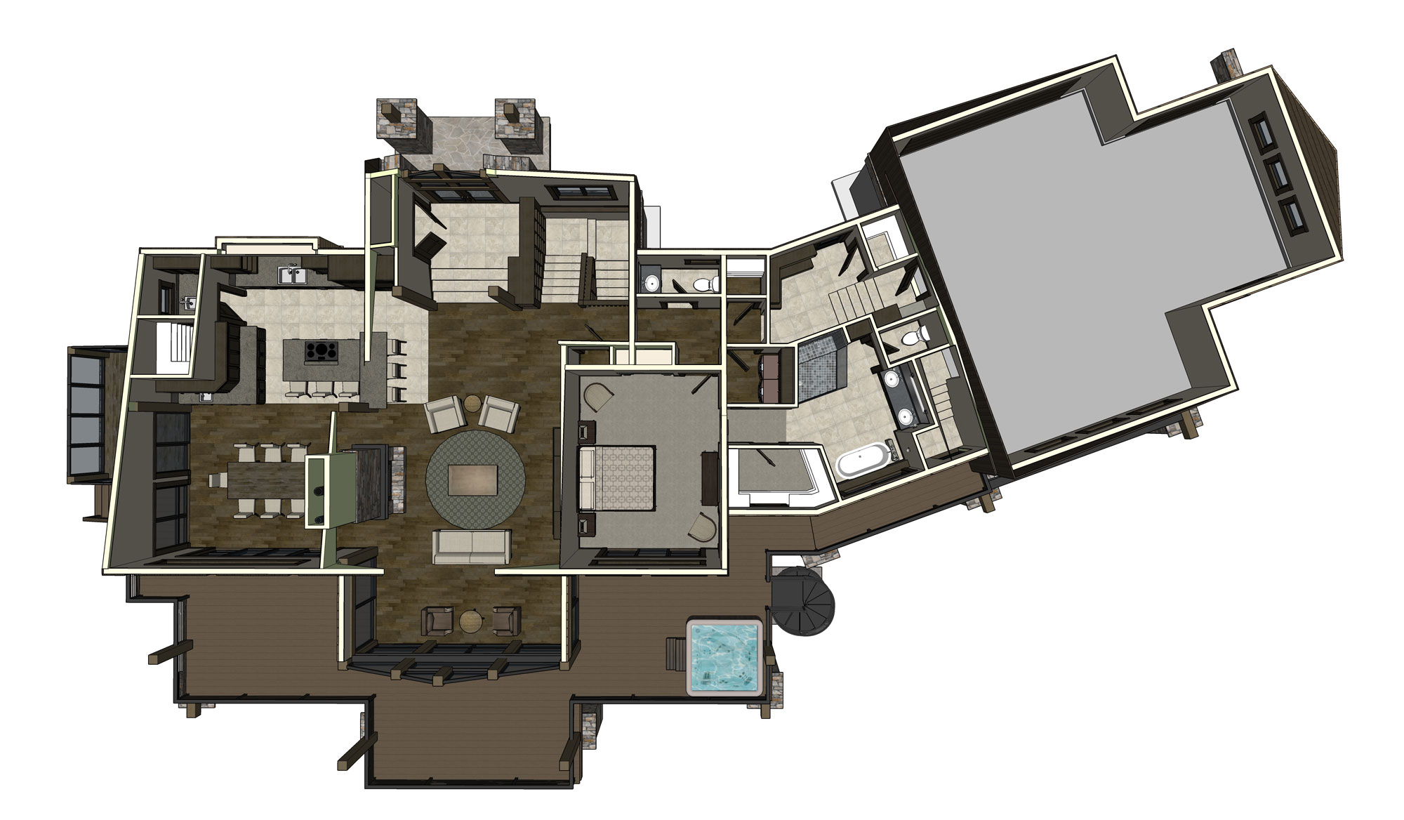 555 whitewater drive tamarack resort virtual design concepts lower level